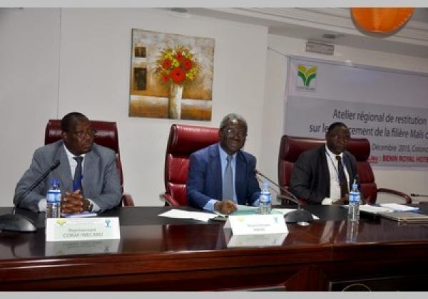 Priorités de recherches et de développement agricole en Afrique de l'Ouest: Convenir des mécanismes de financement durable de la filière maïs
