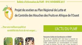 Bulletin d'information du PLMF – N°01 NOVEMBRE 2017