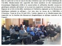 Communiqué de presse : Renforcement des Capacités sur la Gestion des Ressources Zoogénétiques en Afrique centrale et de l'ouest