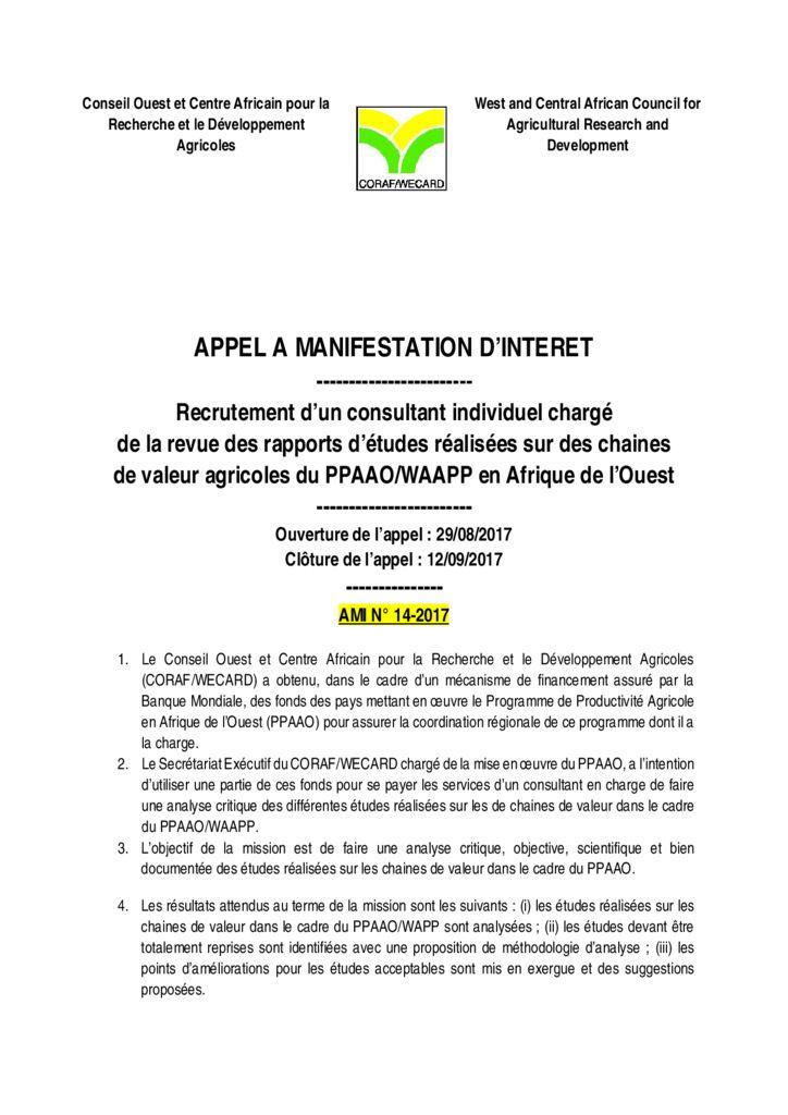 thumbnail of AMI-14-2017-TDRS-Révision-étude-chaine-de-valeurs
