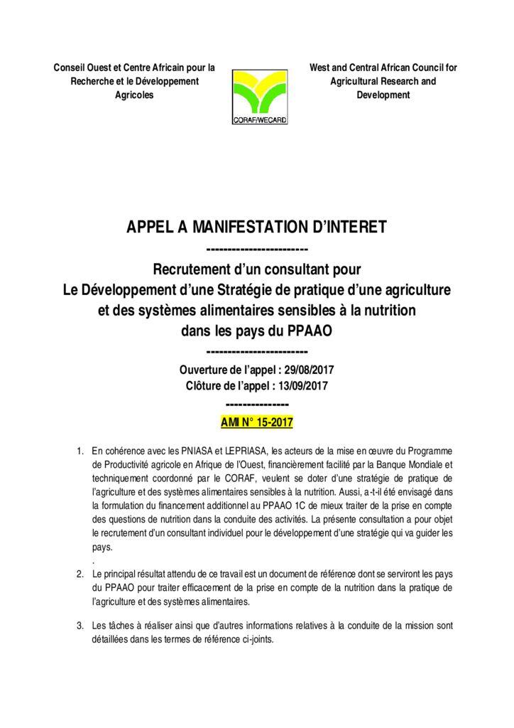 thumbnail of AMI-15-2017-TDRS-Stratégie-de-nutrition