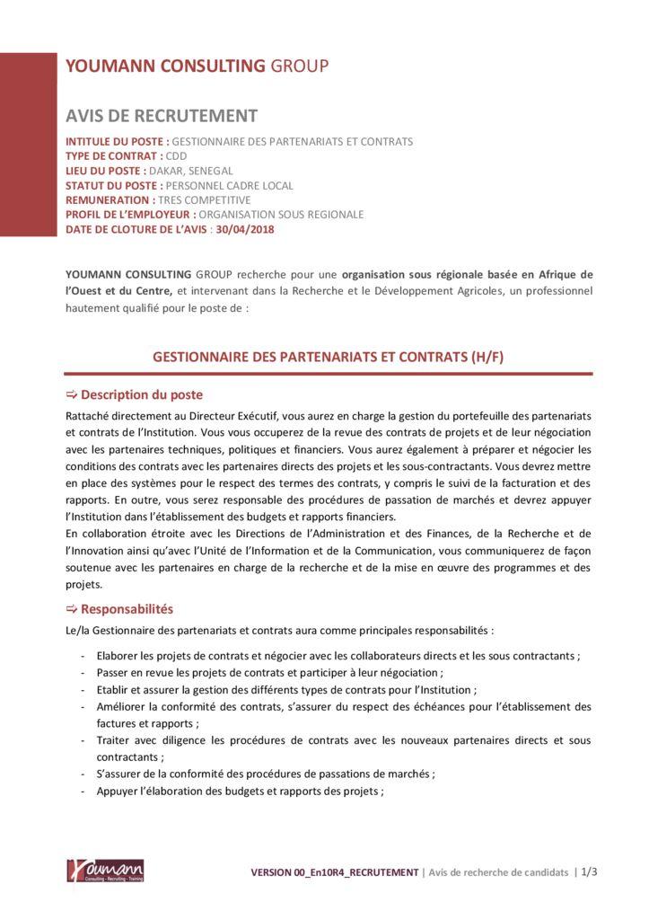 thumbnail of Avis_de_recrutement_Gestionnaire_des_Partenariats_et_Contrats