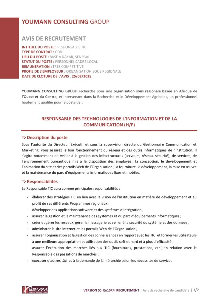 thumbnail of Avis-de-recrutement_Responsable-TIC